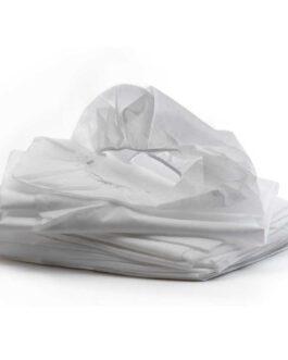 סדין אלבד איכותי עם גומי לבן – 10 יחידות